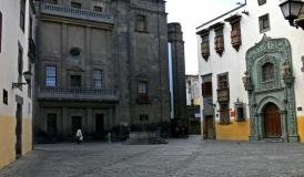 sight house of Columbus in Las Palmas Vegueta